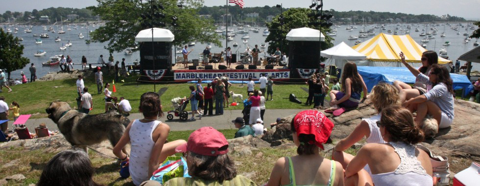 Crocker Park Music Stage Marblehead Arts Festival