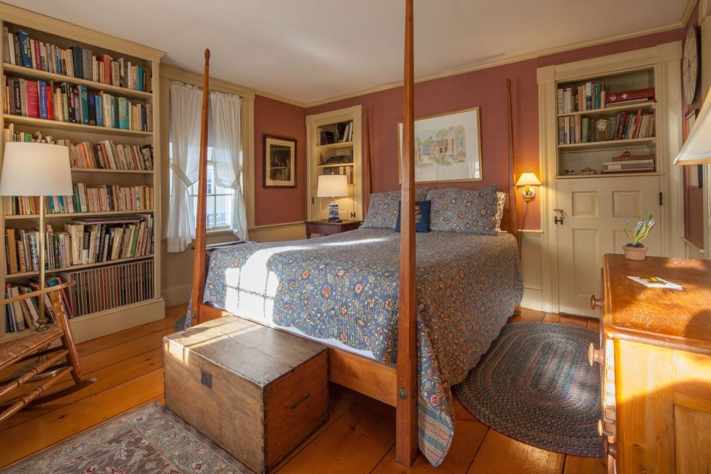 Bedroom Isaac Mansfield Room